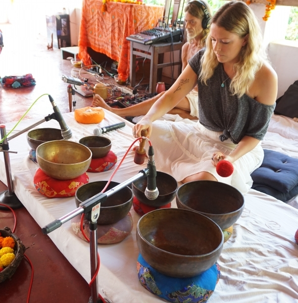 Tibetan Singing Bowls Training Goa