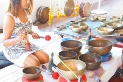 Learn how to give group sound healing concert with Tibetan Singing Bowls