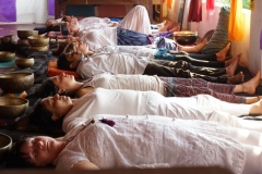 Sound Healing Students Teaching India