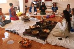 Tibetan Singing Bowls Healing Training India 2