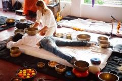 Tibetan sound healing ning with shiva girish