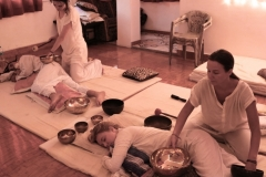 Sound Healing Students Teaching India 6