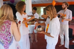 Tibetan sound healing therapy training with shiva girish