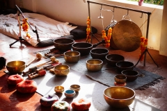 Tibetan sound healing training with shiva girish